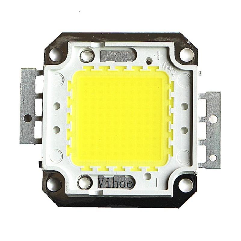Lampada 1W 10W 20W 30W 50W 100W Led Chip Integrated Leds Spotlight DIY Street Flood Light COB Full Watt Chips Warm Cool White