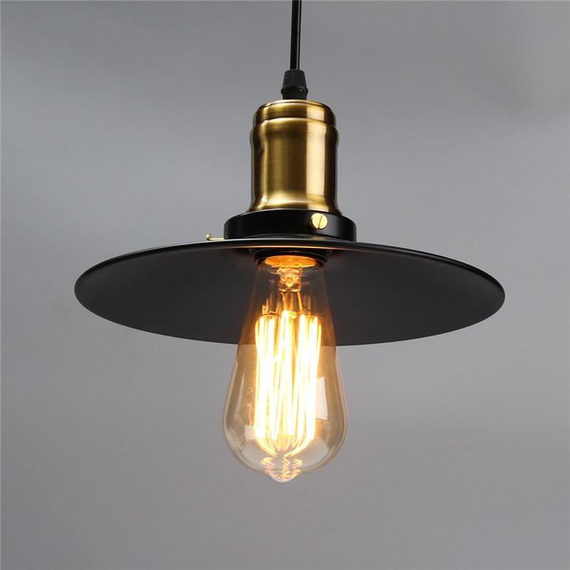 Smuxi Retro Vintage Pendant Lights 1m Cable 18/22/26cm