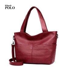 Lässig Taschen Kuh Echtes Leder Frauen Taschen Designer Marke Weibliche Handtaschen Hobo Umhängetaschen Sac