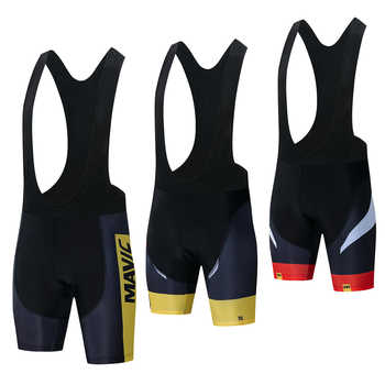 Mavic Pro Team 2019 New Cycling 9D GEL Pad Bib Shorts MTB Quick Dry Breathable Padded Sport Bike Wear Bicycle Lycra - DISCOUNT ITEM  27% OFF All Category