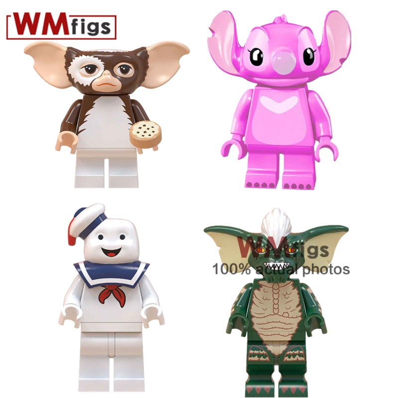 Model Building Reasonable Super Hero Stay Puft Marshmallow Building Blocks Green Gremlins Gizmo Legoings Annabelle Girls Bricks Action For Children Gift Curing Cough And Facilitating Expectoration And Relieving Hoarseness Blocks