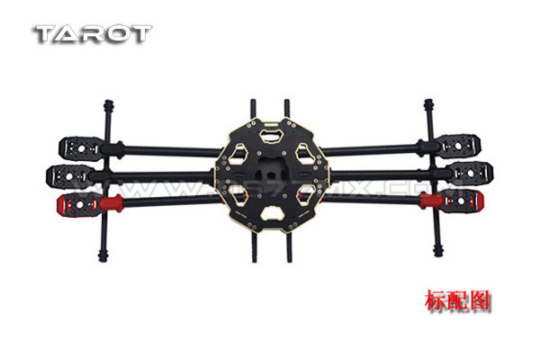 Tarot 680PRO Six-axis 6-Axis Folding Hexacopter Aircraft Frame Kit TL68P00 tarot fy680 whole folding style six axis aircraft racks [pure carbon tube version] tl68b01