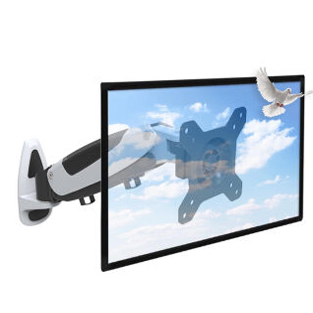 HONGHUA 13-42 Gas Spring LCD LED TV Wall Mount Monitor Holder Ergonomical Pneumatic arm Loading 9-20kgs buy monitor wall mount