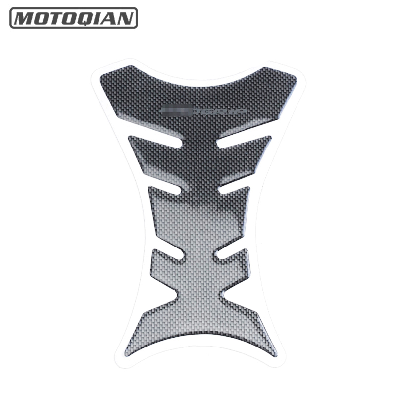 Universal 3D Carbon Fiber Motorcycle Tank Pad Protector Sticker Fish Bone Style Motorcycle Oil Tank Stickers For Kawasaki Ducati brand new motorcycle carbon fiber 3d tank pad protector for ninja250r ex250r 2008 2011 2009 2010