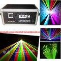 Лазерная 5 Вт RGB анимации лазерного DJ light свет этапа дискотека свет лазерное шоу системы показать свет бесплатная доставка