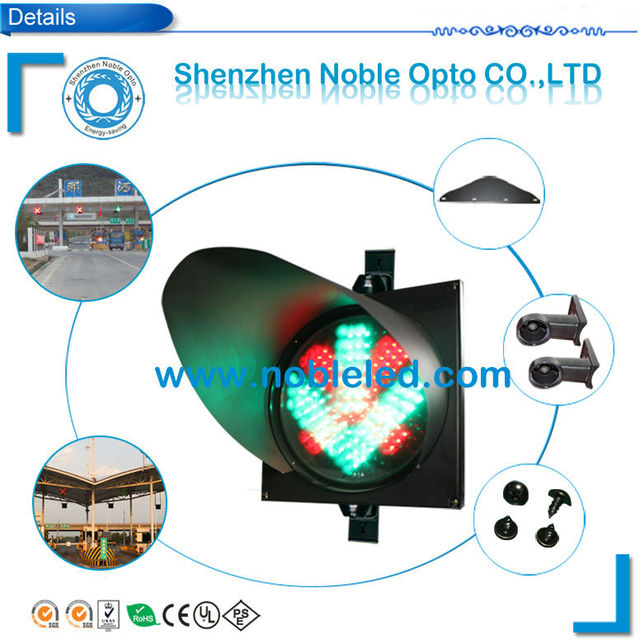 300mm Parking Lot Red Green Stop And Go 2 In 1 Led Traffic