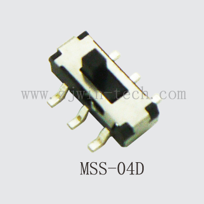 20PCS 6 Pin Mini Switch On-OFF 2Position Micro Slide Toggle Switch Handle H=2MM SMD 6 feet slide switch handle sk22d07 toggle switch 2 gear 4 mm