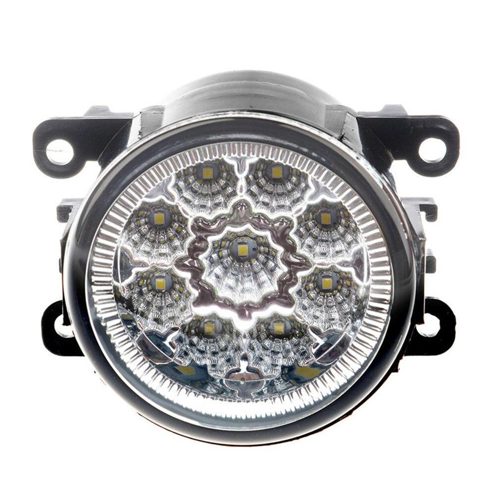Pour Renault Duster Megane Fluence Koleos Kangoo Thalia 2003-2015 Car Styling Brouillard Assemblage De La Lampe Led Brouillard Lumières 450LM 9 w 2 pcs