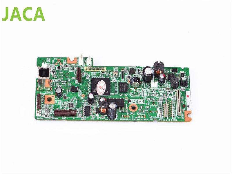 L555 MainBoard for FORMATTER PCA ASSY Formatter Board logic Main Board mother board for Epson L555 printer L210 L220 L455 L355 used formatter board logic main board for epson l1300 me1100 t1100 t1110 b1100 w1100 1100 pca assy mainboard mother board