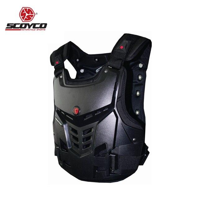 8279fbff148 Moto armadura de la motocicleta Armaduras motocross pecho espalda protector  chaqueta chaleco Racing Protecciones Cuerpo guardia