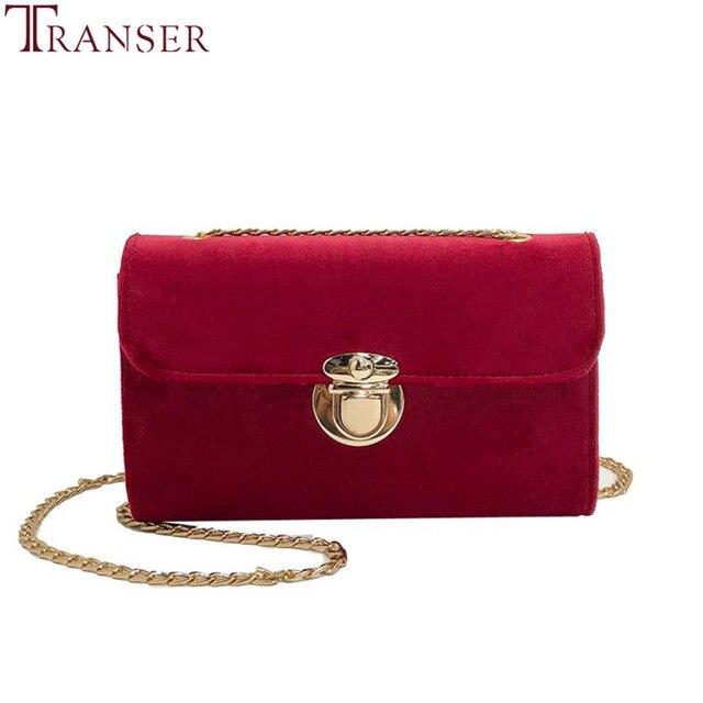 e82508b677 Transer Retro Gold Velvet Crossbody Bag Women Elegant Long Chain Shoulder  Bag Messenger Bags Female Tote Vintage Handbags A11 30