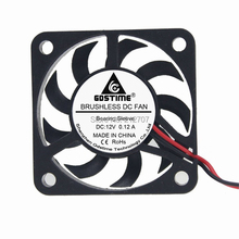 цена на 1PCS Gdstime 40x40x7mm 4007 DC 12V 2Pin 40mm Mini Computer Cooler Cooling Fan