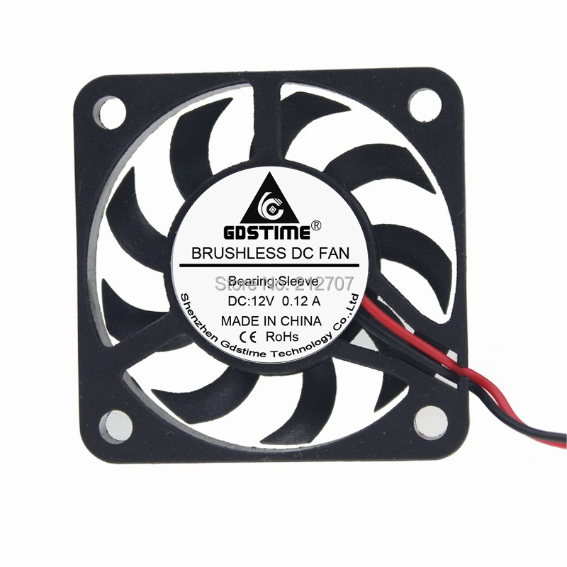 1PCS Gdstime 40x40x7mm <font><b>4007</b></font> DC 12V 2Pin 40mm Mini Computer Cooler Cooling Fan image