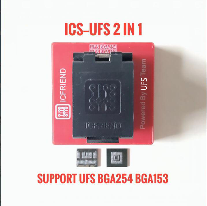 2019 NEWEST ORIGINAL UFS adapters socket ICFriend ICs-UFS 2IN1 support UFS BGA254 BGA153 with EASY JTAG PLUS box work2019 NEWEST ORIGINAL UFS adapters socket ICFriend ICs-UFS 2IN1 support UFS BGA254 BGA153 with EASY JTAG PLUS box work