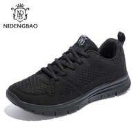 2019 nuevo más tamaño 40-50 zapatos casuales para hombre para otoño zapatillas ligeras malla transpirable calzado masculino zapatos de moda hombre