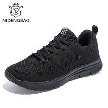 Novo plus size 40 50 homens sapatos casuais para o outono leve tênis de malha respirável calçados masculinos moda zapatos hombre