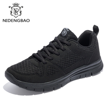 Nowy Plus rozmiar 40 50 mężczyźni obuwie na jesień lekkie buty sportowe Mesh oddychające obuwie męskie moda zapatos hombre