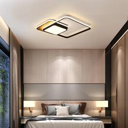 Minimalizm nowoczesne lampy sufitowe Led światła dla do nauki łóżko światła pokoju lampara techo biały/czarny Nordic led lampy sufitowe