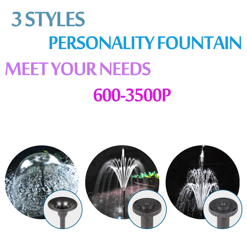 Image 4 - 8/14/24/55/85W High Power Fountain Water Pump fountain Maker Pond Pool Garden Aquarium Fish Tank Circulate & Multi Performance-in Fountains & Bird Baths from Home & Garden