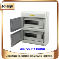 Top Quality Best PC Material IP66 Waterproof Electrical Meter Distribution Box 24 Way Distribution Enclosure