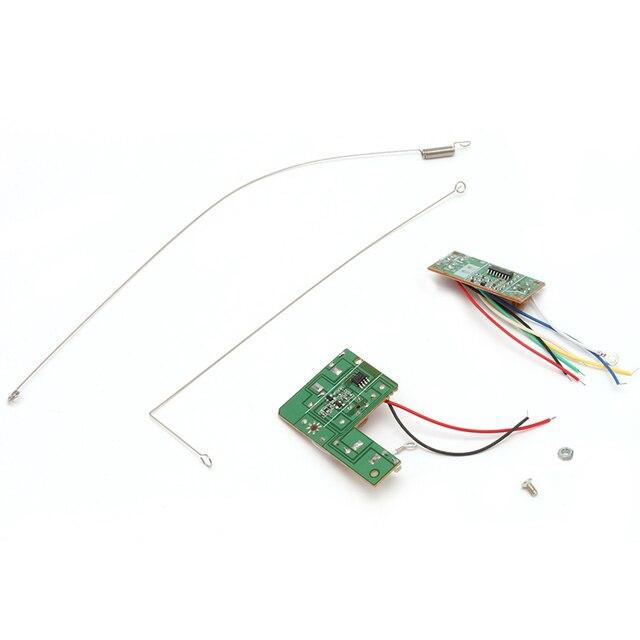 4CH 27 мГц удаленного Управление плате печатная плата приемопередатчика получает игрушки на радиоуправлении