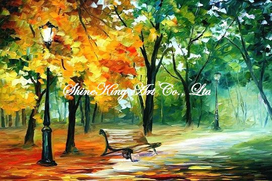 palette font b knife b font oil painting modern oil painting canvas oil painting K218