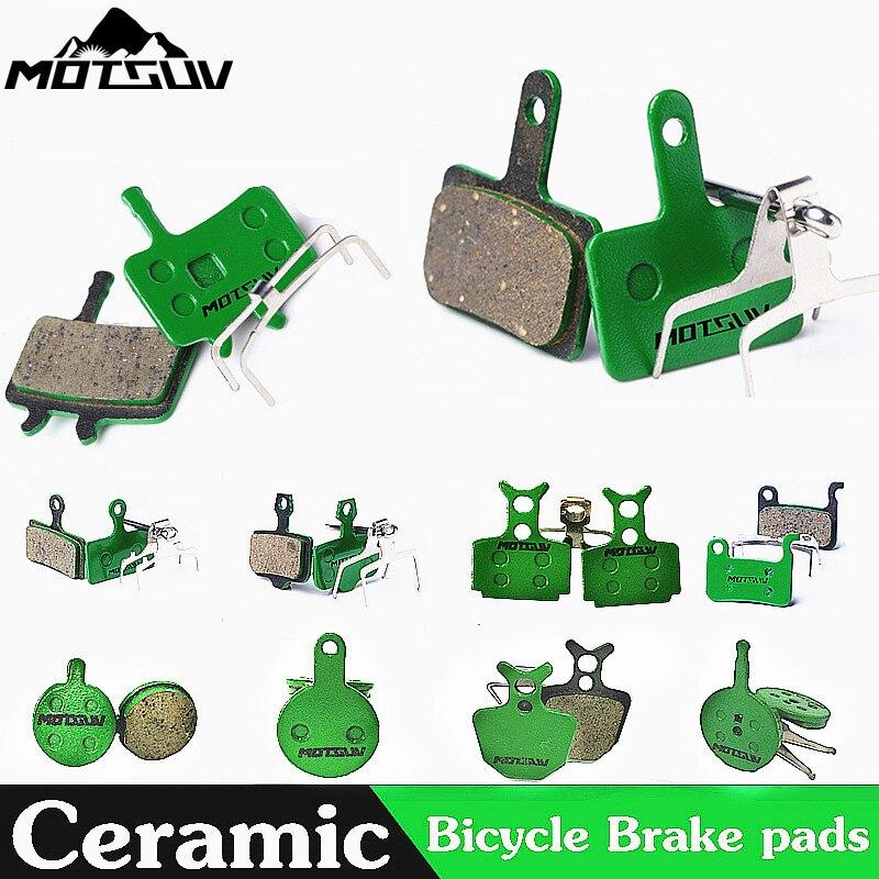 4 Pairs Bicycle Ceramics Disc Brake Pads for MTB Hydraulic Disc Brake AVID HAYES TEKTRO Magura Formula Bicycle Pads