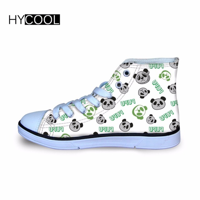 HYCOOL niños zapatillas unicornio impreso clásico alto-Top zapatos de lona  para la escuela los cd5b0b222cefa