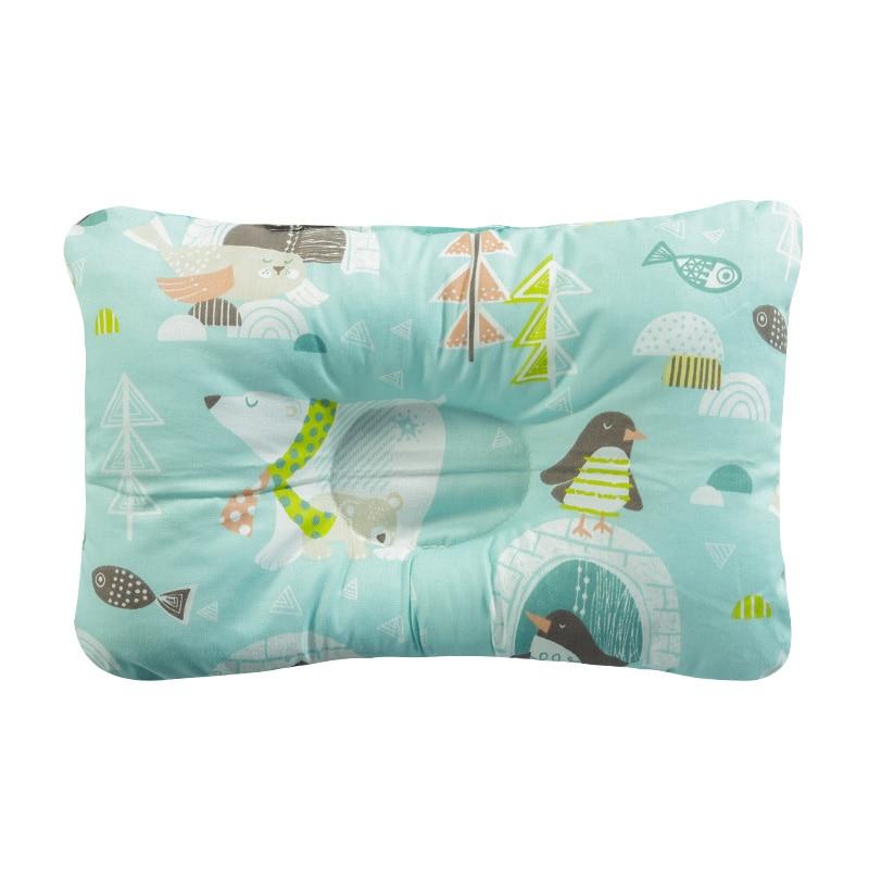 [Simfamily] новая Брендовая детская подушка для новорожденных, поддержка сна, вогнутая подушка, подушка для малышей, подушка для детей с плоской головкой, детская подушка - Цвет: NO20