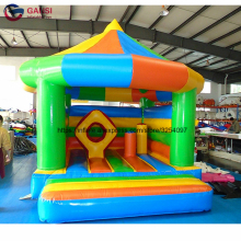 4.5*4m inflatable house tent jumping castlehome use 0.55mm PVC tr&oline inflatable & Buy trampoline tent and get free shipping on AliExpress.com