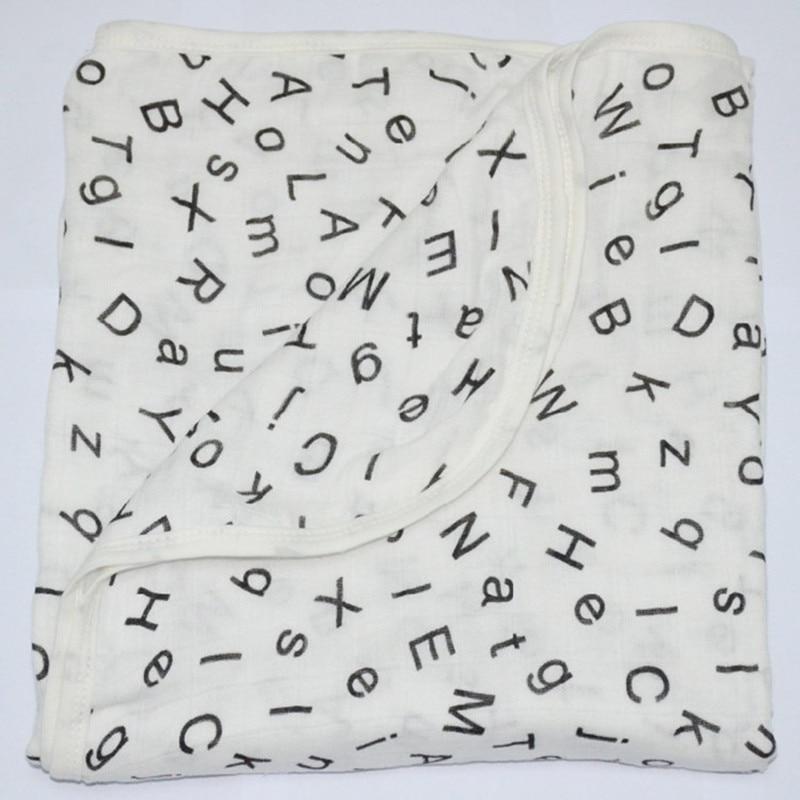 Gratis forsendelse 100% Bambus fiber Aden anais carbasus baby lag 2 tæppe badehåndklæde sengelinned tæppe med label ingen plet