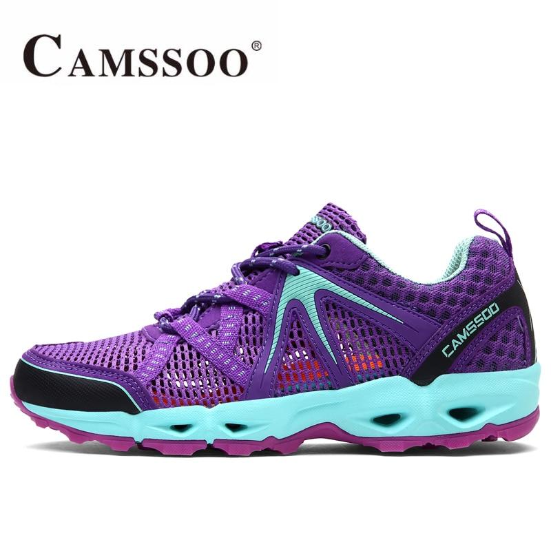 CAMSSOO Women's Summer Outdoor Hiking Trekking Shoes Sneakers For Women Sports Aqua Water Climbing Mountain Shoes Woman берроуз э принцесса марса боги марса владыка марса