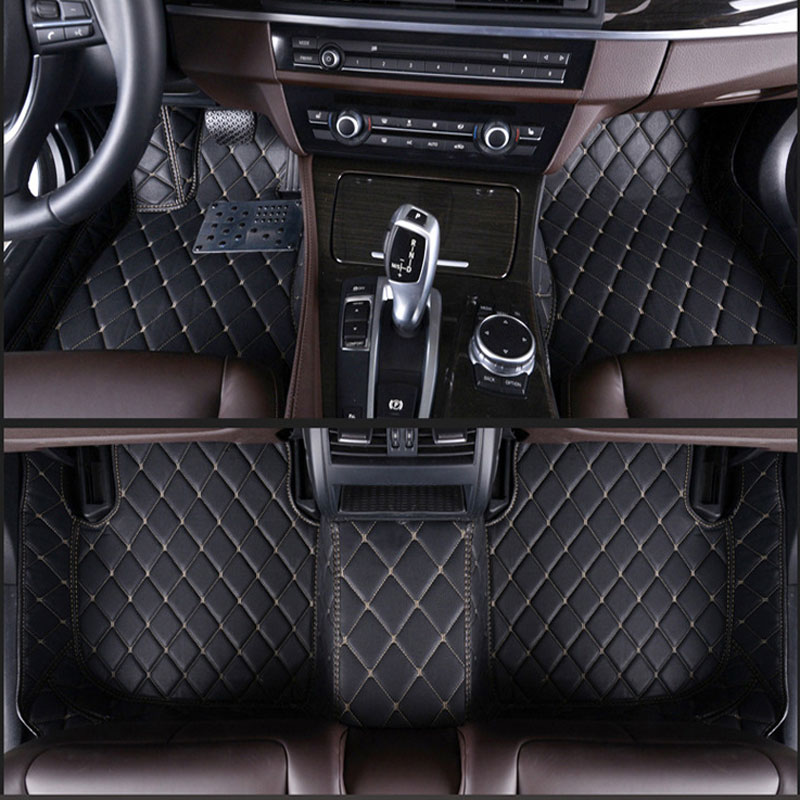 Custom fit Auto floor mats foot mats leather mats Non-slip foot carpet  car mat for Mazda CX-5 CX-7 MX-5 all models universal 3d trunk mat for peugeot 508 waterproof car protector carpet auto floor mats keep clean interior accessories