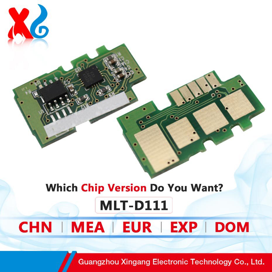 MLT-D111S Reset Chip for Samsung M2020 M2020W M2022 M2022W M2070 Refill Printer Toner Cartridge Chip Resetter EXP Version es7411 reset chip for oki 7411 toner chip laser printer cartridge chip free shipping