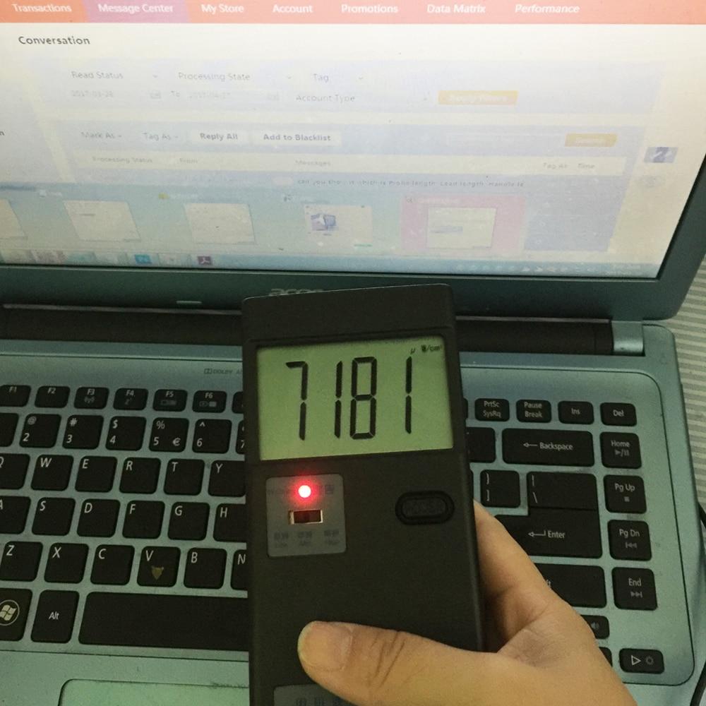 EMF teszter, elektromágneses sugárzásdetektor QX-5 Háztartási - Mérőműszerek - Fénykép 4