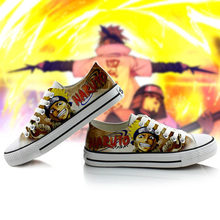 Anime Naruto Canvas Shoes Cool Breathable Unisex Shoes for Halloween party
