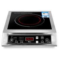 3500 ワットステンレス鋼の誘導炊飯器黒液晶パネルスケジュールされた予定防水インテリジェント温度調節