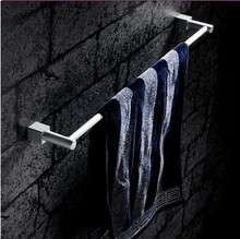 Space aluminum single towel rack bar bathroom hanging rod