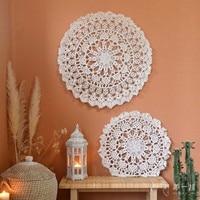 Mandala Original Hand woven Tapestry Wall Hanging Indian National Wind Curtain Partition Wedding B&B
