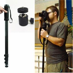 """Image 1 - 2 em 1 wt1003 liga leve 67 """"monopé, WT 1003 com cabeça q29 para sony canon nikon slr dslr câmera digital com bolsa de transporte"""