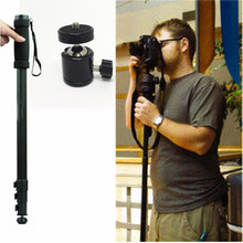 """2in1 WT1003 Alloy Lightweight 67"""" Monopod WT 1003 With Q29 Head For Sony Canon Nikon SLR DSLR Digital camera with Carrying bag"""