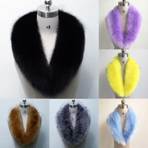 2017 Winter  Women Faux Fur Scarf Shawl Collar Stole Cape Scarves Winter Scarf Wrap