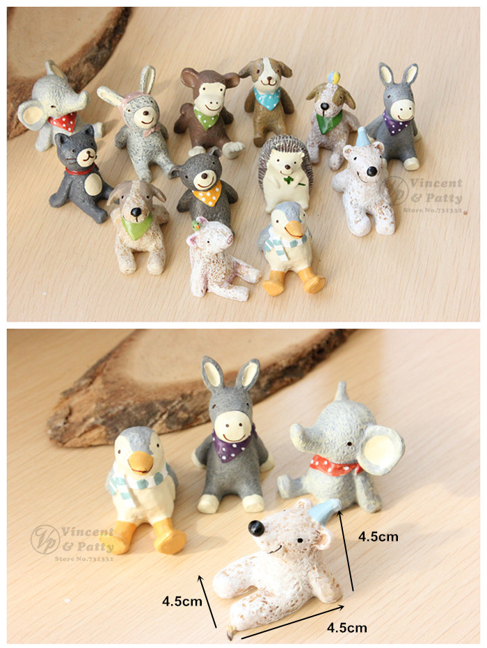 Table Decorative Crafts And Scrapbooking Mini Cute Animal Hand Made Resin Zakka Toy Wedding Gift Home Decoration Households 5027 On Aliexpress