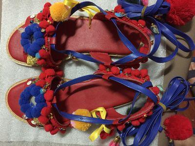 Mix Planas tied As Pom Choo Cross Picture Fashion Colors Sandalias Zapatos Flower Bohemian Gladiador Verano De Tessels Eunice Mujer xEwTqRvPv