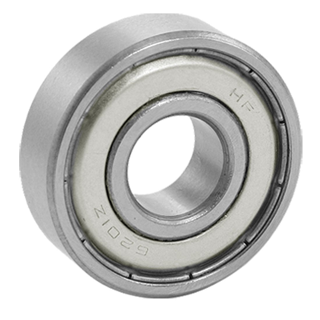 New Style <font><b>6201Z</b></font> 12 x 32 x 10mm Double Shielded Deep Groove Wheel Ball Bearin image