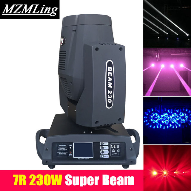 230w 7R Beam Light DMX512 Moving Head Light 17Gobos+14Chips Stage Light Professional DJ /Bar /Party /Show /Stage Machine