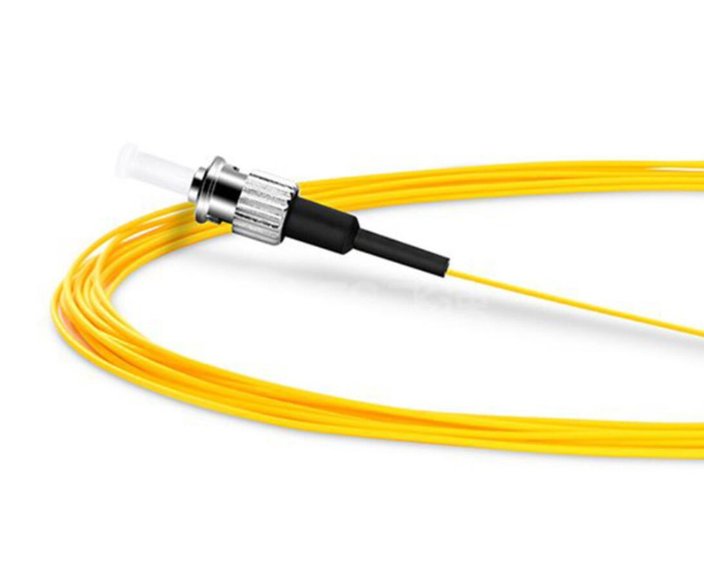 3m Simplex ST/UPC 9/125 Single Mode Fiber Optic Pigtail - 0.9mm3m Simplex ST/UPC 9/125 Single Mode Fiber Optic Pigtail - 0.9mm