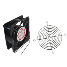 120x120x38 standard size 220V AC axial high RPM 120mm computer case CPU cooling fan gdstime 18060 180x180x60mm 18cm 180mm ac cooling axial brushless fan cooler