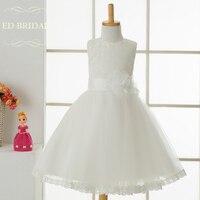 Lace Tulle First Communion Dresses For Girls Robe Fille Flower Girl Dresses