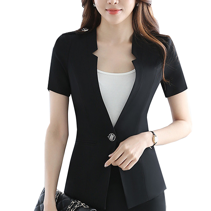 Popular Blazer Short Sleeve-Buy Cheap Blazer Short Sleeve ...